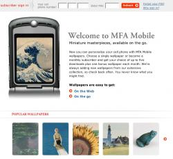 MFA Mobile: Just Browse, Order and Download.