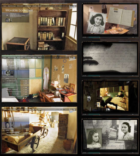 Anne Frank, The Secret Annex Online stories
