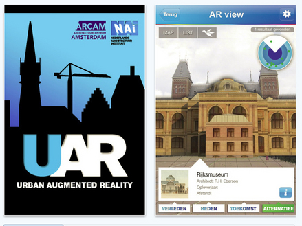 Fig 1: UAR, NAi's AR architecture application