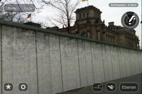 Fig 10: The Berlin Wall is here again (in AR)