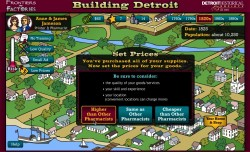 Building Detroit; Choices in the game