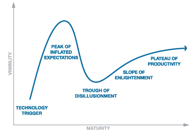 Fig 1: Gartner Hype Curve