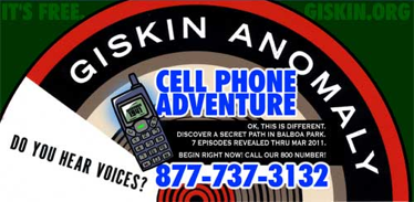 Fig 2: Balboa Park's Giskin Cell Phone Adventure