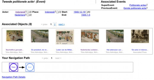 Fig 7: Event browsing page in the Agora demo