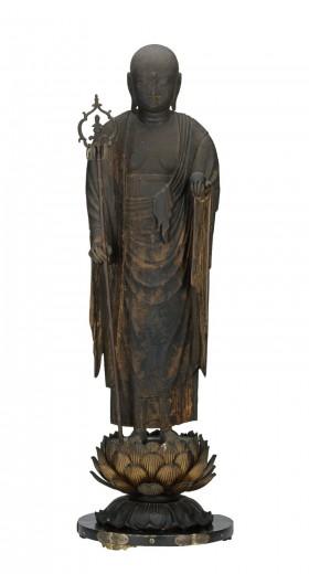 Fig 2: Kshitigarbha Bodhisattva (Jizo Bosatsu), Indianapolis Museum of Art