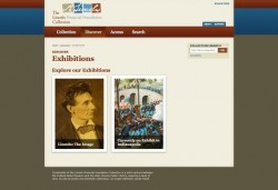 LincolnCollection.org Online Exhibitions