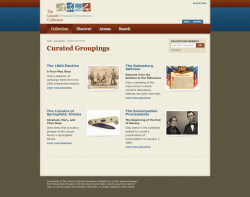 LincolnCollection.org Curated Groupings of Objects