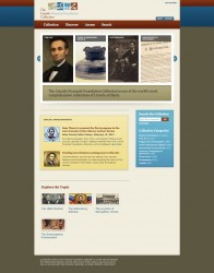 LincolnCollection.org Home Page