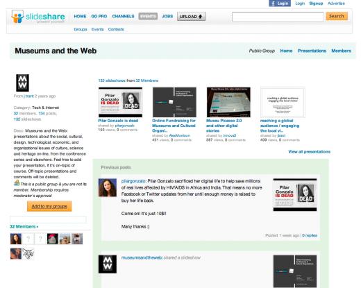 Museums and the Web on Slideshare | museumsandtheweb com