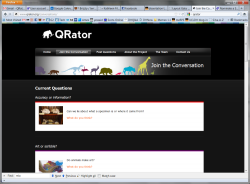 the Qrator website