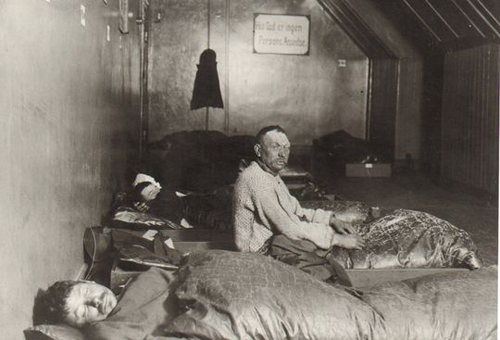 Fig 21: Photo from a shelter, 1890s