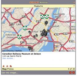 schmap montreal museum map: Montreal museums in the Schmap widget.