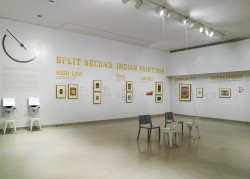 Split Second: Indian Paintings Exhibition: controversial and dynamic responses during the evaluation process, accompanied by a visualization and analysis of the data collected.
