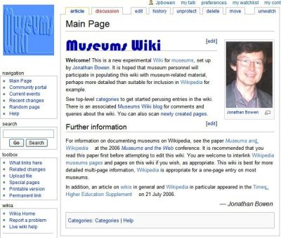 Archives & Museum Informatics: Museums and the Web 2007